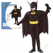 Kostým na karneval BATMAN 120-130 cm