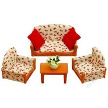 Nábytek - sedací souprava se stolečkem