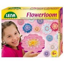 Pletení - květinový tkalcovský stav