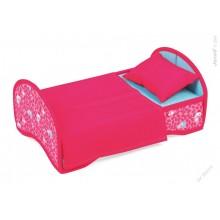 Postýlka - kolébka pro panenky v kufříku