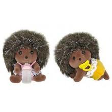 Rodina - dvojčata ježci