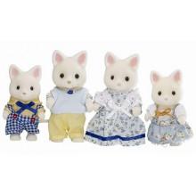 Rodina hedvábných koček - Sylvanian family