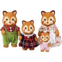 Rodina - rodina červené pandy