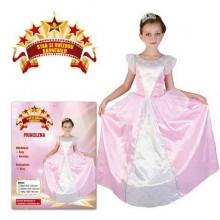 Šaty na karneval PRINCEZNA 130 - 140cm