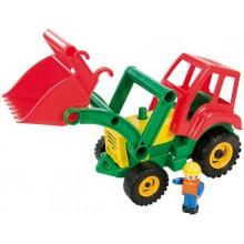 LENA - aktivní traktor se lžící