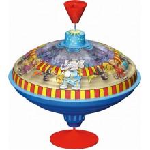Káča hrající kovová Cirkus