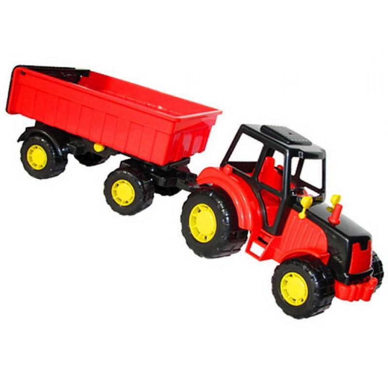 POLESIE Traktor Mistr s přívěsem I.