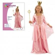 Šaty na karneval Princezna 110-120cm