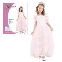 Šaty na karneval Růženka 120-130cm