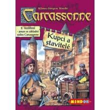 Hra Carcassonne Kupci a stavitelé