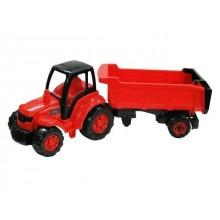 POLESIE Traktor Šampion s přívěsem 74cm