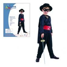 Šaty na karneval BANDITA 120-130cm