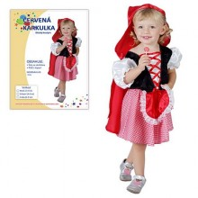 MADE Šaty na karneval Karkulka 92-104cm