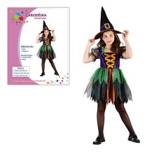 Kostým pro malou čarodějku 110-120cm