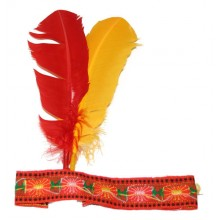 RAPPA Karnevalová indiánská čelenka Rybana.