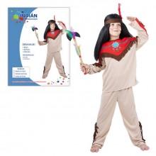 Šaty na karneval INDIÁN 120-130cm