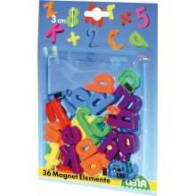 Magnetická písmenka psacím malá 30mm