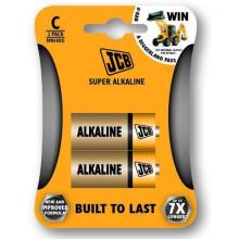 JCB SUPER alkalická baterie LR14