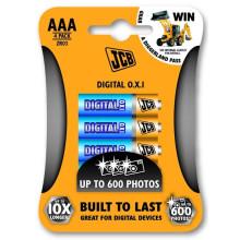 JCB OXI DIGITAL alkalická baterie R06