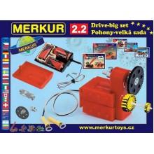 Merkur 2.2 - pohony a převody