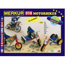 MERKUR TOYS Merkur 018 - Motocykly