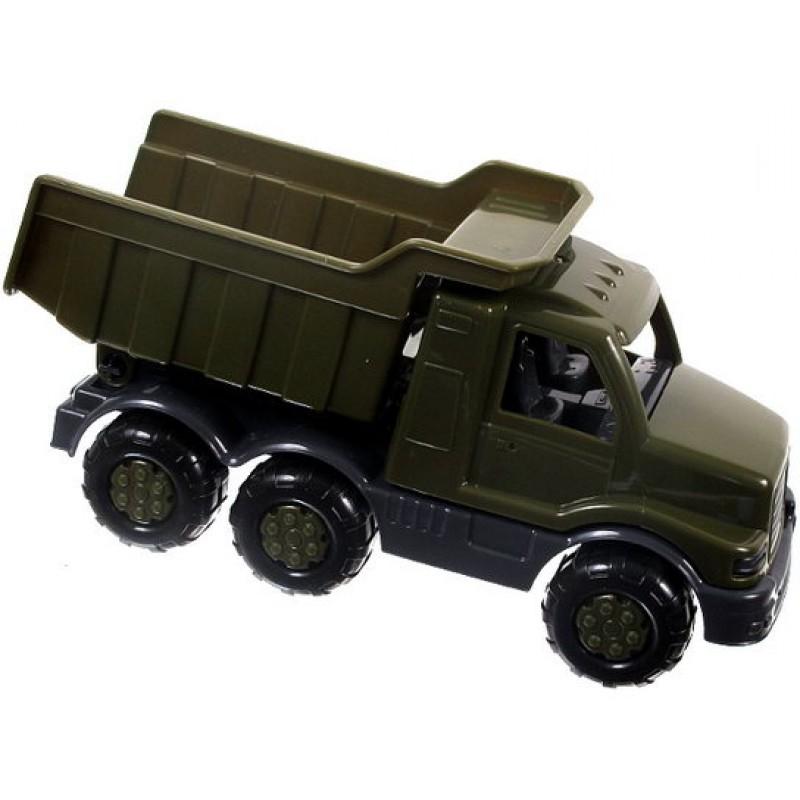 Polesie Auto Maxík - sklápěčka vojenská