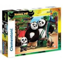 Puzzle Kungfu panda Rodina MAXI 24 dílků