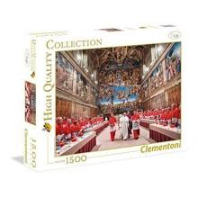 CLEMENTONI puzzle 1500 Papa Francesco