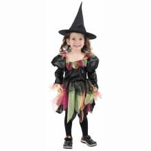 MADE Šaty na karneval Duhová čarodějka 92-104