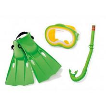 MADE Potápěčský set zelený dětský