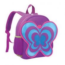 Batoh neoprenový - dětský motýl fialový
