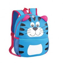 Batoh neoprenový - dětský tygr modrý