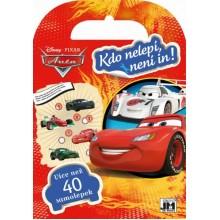Samolepkové miniknížky - Auta