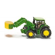 SIKU Blister Traktor s nakladačem slámy