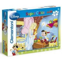 CLEMENTONI MAXI Puzzle Pinocchio 104