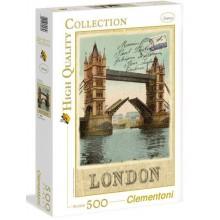 Puzzle Clementoni 500 dílků - Londýn