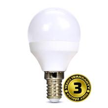 SOLIGT LED žárovka miniglobe 6W E14 3000K 450lm