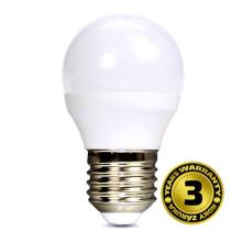 SOLIGT LED žárovka miniglobe 6W E27 6000K 450lm
