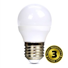 SOLIGT LED žárovka miniglobe 6W E27 3000K 450lm