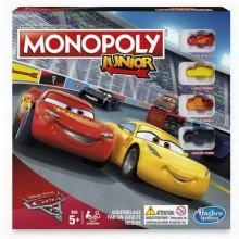 HASBRO Monopoly junior Auta 3 - Cars3