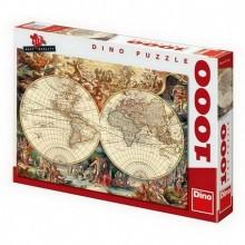 HISTORICKÁ MAPA 1000 Puzzle