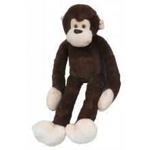 Plyšová opice dlouhá ruka 100 cm tmavá
