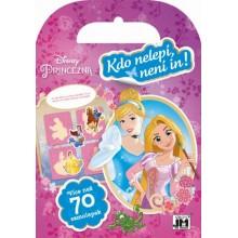 Samolepkové miniknížky Disney Princezny