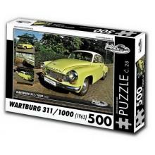 KB Barko s.r.o. PUZZLE WARTBURG 311/1000 (1963) 500 dílů