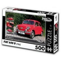 KB Barko s.r.o. PUZZLE FIAT 600 D (1966) 500 dílků