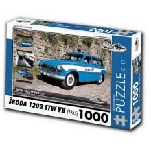 PUZZLE ŠKODA 1202 STW VB (1965) 1000 d.