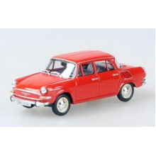 ABREX Škoda 1000MB(1964) 1:43 Červená Oranžová