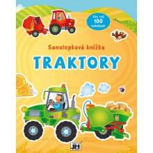 Samolepková knížka - Traktory