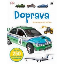 Samolepková knížka Doprava