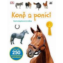 Samolepková knížka Koně o poníci